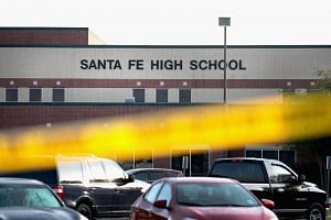 The gunman in Santa Fe used a pistol and a shotgun, firearms common to many South Texas homes, firearms he took from his father, police said.