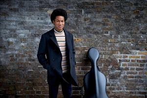 Cellist Sheku Kanneh-Mason in an undated handout picture released by Kensington Palace on April 24, 2018.