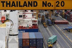 Four years after the military seized power, Thailand's economy is rebounding with growth sustained by a pick-up in exports and tourism.