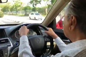 Dr Mahathir Mohamad is known to drive himself around Putrajaya, reported Malay Mail.