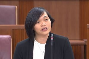The People's Action Party's Mr Lim Biow Chuan singled out NMP Kuik Shiao-Yin (pictured) for her speeches on the youth.