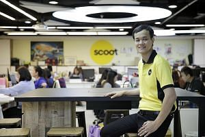 Scoot CEO Lee Lik Hsin said the low-cost carrier's growth will also benefit the Singapore air hub. For the first time since the airline started operating in 2012, Scoot is also seeking partnerships with other carriers. It will launch flights to Berli