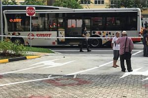 The Straits Times understands that the boy was found under the rear wheel of a bus in Choa Chu Kang Avenue 5.