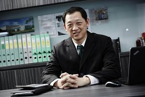 Anthony Koh, chief executive of construction engineering company ISOTeam.