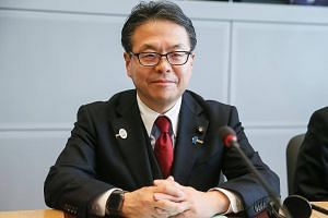 Japan's Trade Minister Hiroshige Seko (above) said the tariffs under consideration - reportedly as high as 25 per cent - would disrupt the global market and go against the rules of the World Trade Organisation.