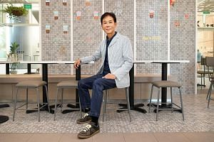 Mr George Quek says F&B is a tough business. Yet, he loves it. He loves the thrill of coming up with a location and getting the restaurant and food concept right. At 62, he feels young and retirement is not on the cards.