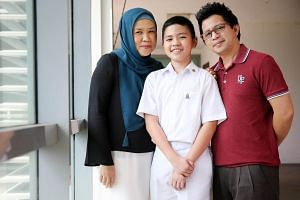 The only son of a full-time Grab driver and housewife, Putra Zayan Mohd lives in a three-room flat with his ailing grandmother. He receives full financial aid for school.
