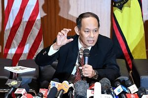 """Malaysian Anti-Corruption Commission chief Shukri Abdull, speaking at a press conference at the MACC office in Putrajaya last Tuesday, said he """"almost died"""" while investigating 1MDB and its subsidiary SRC International. He was removed from the case i"""