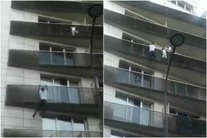 Mr Mamoudou Gassama's quick climbing to reach the child, cheered on by terrified onlookers, went viral on social media.