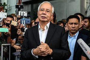 Former Malaysian prime minister Najib Razak questioned how the government arrived at the conclusion that the project would cost about RM110 billion.
