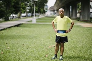 Forty-seven-year-old Singaporean Nel Tulsiani is now a trim 67kg and completes more than 20 races a year.