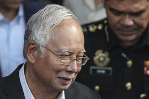 Malaysia's former prime minister Najib Razak said Finance Minister Lim Guan Eng should concentrate on safeguarding economic growth and financial stability.