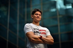 Joseph Schooling, the champion from Rio, is now a different swimmer who is finding a new route to success.