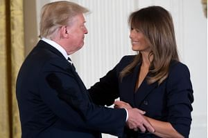 US President Donald Trump's wife Melania Trump has not been seen in public since May 10.