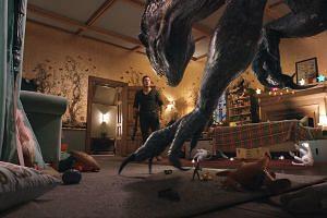 Actor Chris Pratt plays animal trainer Owen in Jurassic World: Fallen Kingdom.