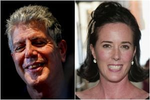 Celebrity chef Anthony Bourdain and fashion designer Kate Spade killed themselves in the past week.