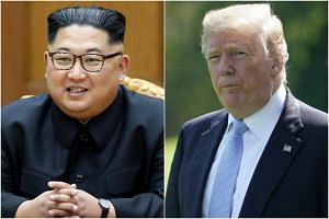 North Korean leader Kim Jong Un and US President Donald Trump will be meeting at Capella Hotel in Sentosa on June 12, 2018.