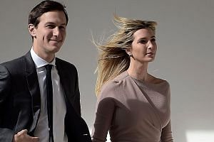 The trusts and investment vehicles of Mr Jared Kushner and his wife Ivanka Trump took part in nearly 80 transactions.