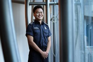Inspector (NS) Gim Joo Hyung, an operationally-ready National Serviceman of the Police Coast Guard who helped liaise with the North Korean delegation.