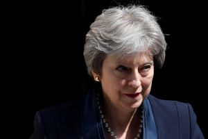 """British Prime Minister Theresa May said on Twitter: """"I want to see these measures pass through Parliament - with government support - soon."""""""