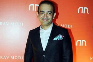 Indian jeweller Nirav Modi at the launch of his store in Mumbai, India, March 14, 2015.