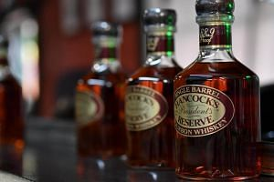 """The European Union imported some €415 million (S$654 million) worth from the US in 2017, along with another €150 million worth of whiskey without the """"bourbon"""" designation."""