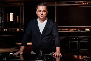 Mr Alan Yau is behind the 222-seat restaurant Madame Fan at the NCO Club at South Beach in Singapore which opened two months ago.
