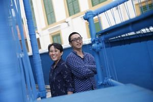 Dr Felicia Low (left) and Dr Woon Tien Wei announced they would be submitting their names to represent the arts sector as NMPs, on June 24, 2018.