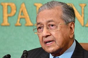 """Water is among issues with Singapore """"that we need to settle,"""" Malaysian Prime Minister Mahathir Mohamad said on Friday (June 22) at his office in Kuala Lumpur."""