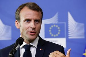 """President Emmanuel Macron, a 40-year-old former investment banker who styles himself as a champion of the tech-savvy youth, pledges to turn France into a """"start-up nation""""."""