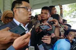 Popular Bandung mayor Ridwan Kamil remains the likely winner for now, having garnered between 32 and 34 per cent of votes, according to quick counts by three pollsters.