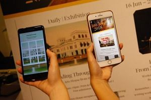 The app NDP Jalan! takes users through various locations in Singapore, such as the Civic District and the Botanic Gardens, to complete quests on the country's history and heritage.