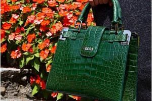 A luxury Bijan bag uses only the finest materials such as crocodile skin, kangaroo hide and flawless gemstones.