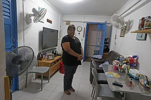 Madam June Tholasiammal, whose medical condition does not allow her to work, lives in a two-room rental flat with her husband and two teenage daughters. The family depends on the $1,800 salary of her husband, a security officer who also suffers from