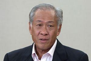 DEFENCE MINISTER NG ENG HEN.
