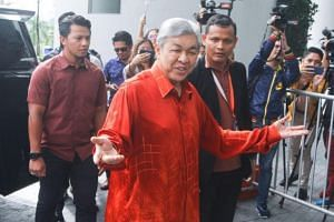 Datuk Seri Ahmad Zahid Hamidi is expected to be asked to give statements related to a foundation run by his family and 1Malaysia Development Berhad.