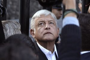 Andres Manuel Lopez Obrador kicked off his third presidential bid vowing to use his headstrong personality to fight for the change that so many Mexicans are demanding this election year.
