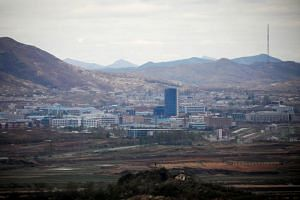 The Kaesong Industrial Complex, which suspended operations since the previous South Korean government unilaterally closed it down in February 2006 over Pyongyang's nuclear test.