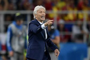 Colombia coach Jose Pekerman said the England players were demanding fouls which, in his opinion, were not.