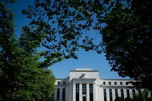 A view of the US Federal Reserve in Washington, DC.