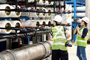 Last month, Singapore officially opened its third desalination plant in Tuas, which can produce enough water to supply 200,000 households. Up to 30 per cent of Singapore's water needs can now be met by turning sea water into drinking water. Two more