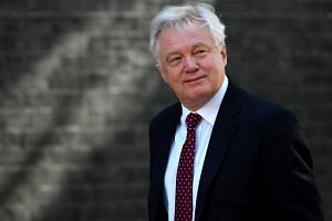 British Brexit Secretary David Davis has resigned, effective immediately, his office said on Sunday (July 8).