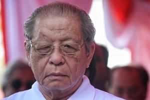 "In a statement,  Iskandar Puteri MP Lim Kit Siang (pictured) cited a report revealing that Jho Low, the alleged 1MDB scandal mastermind, was ""hiding in plain sight"" in Hong Kong."