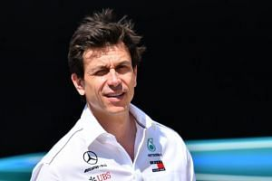 Head of Mercedes-Benz Motorsport Toto Wolff at Silverstone motor racing circuit in Silverstone, central England, on July 5, 2018 ahead of the British Formula One Grand Prix.