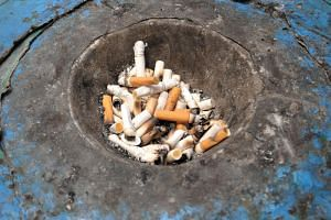 The National Environment Agency's surveillance cameras can detect lit cigarettes both during the day and the night, and will capture images of the offender as well as the date and time.