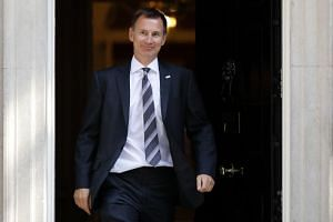 Jeremy Hunt has been named as Britain's Foreign secretary on July 9, 2018 following the resignation of Boris Johnson.