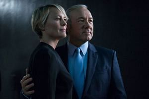 Despite working with Kevin Spacey for four years, Robin Wright says she knows zilch about her House Of Cards co-star's personal life.