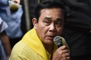 In the speech which lasted 3.45 minutes, Thailand's Prime Minister Prayut Chan-o-cha extended his