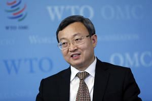 Wang Shouwen, China's vice-minister of commerce, at an interview at the World Trade Organization (WTO) headquarters in Geneva, Switzerland, on July 11, 2018.