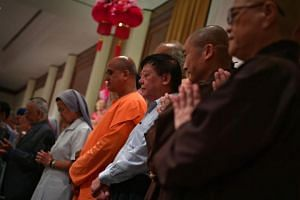 President Halimah Yacob had in May 2018 mooted the idea of holding a high-level dialogue on inter-faith harmony similar to the annual Shangri-La Dialogue.